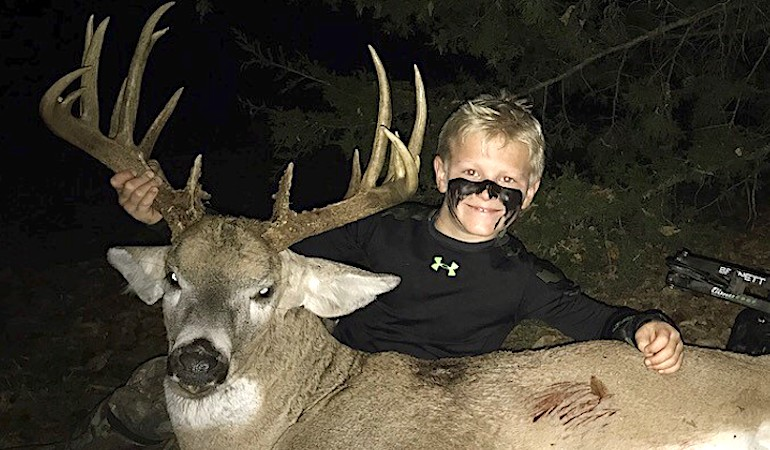 No Place Like Home for Young Kansas Deer Hunter