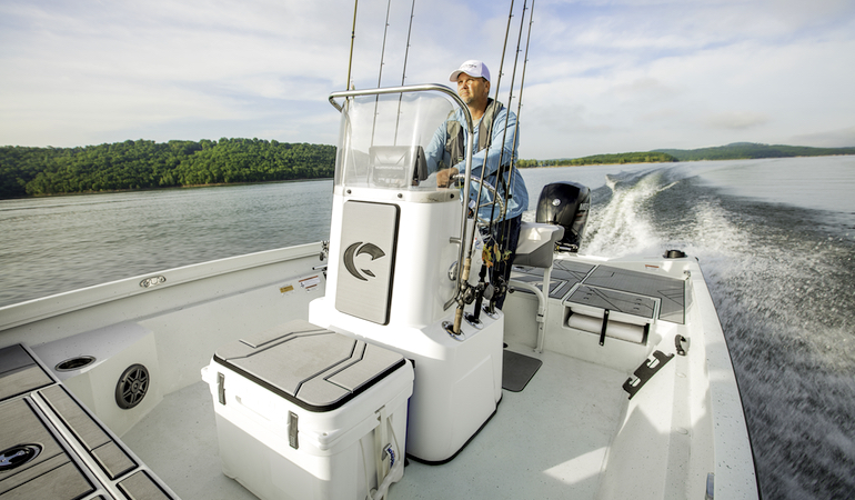 Great New Fishing Boats for Southern Comfort