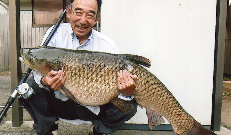 Potential Record Carp Caught With Leaf As Bait