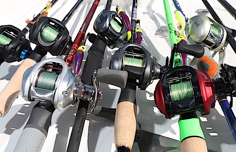 Baitcaster Showdown: G&F Editor's Choice for Best Rod and Reel 2019