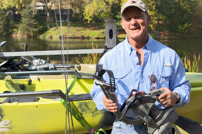 <p>With the Hobie MirageDrive 360 pedal propulsion system, anglers have ultimate kayak control with more efficient fin designs, glide technology and the ability to move their boat in any direction desired</p>
