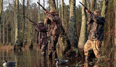 The first tip for Southern waterfowlers is you've got to keep 'em guessing.