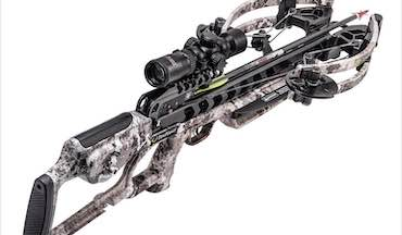 TenPoint's new Viper S400 is its shortest forward draw crossbow with safe de-cocking.