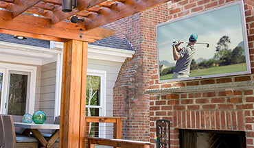 Everything you need to know about selecting and installing an outdoor TV and why you should never use a regular television outside.