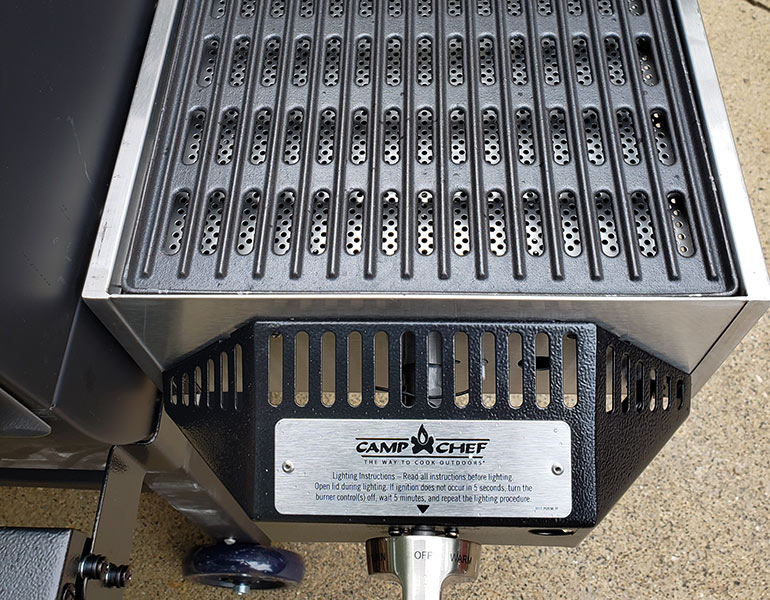 review camp chef woodwind pellet grill sear