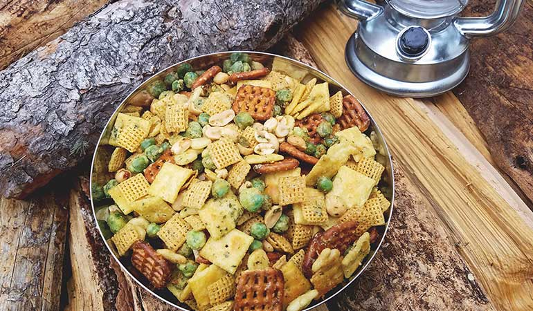 Savory Ranch Snack Mix Recipe