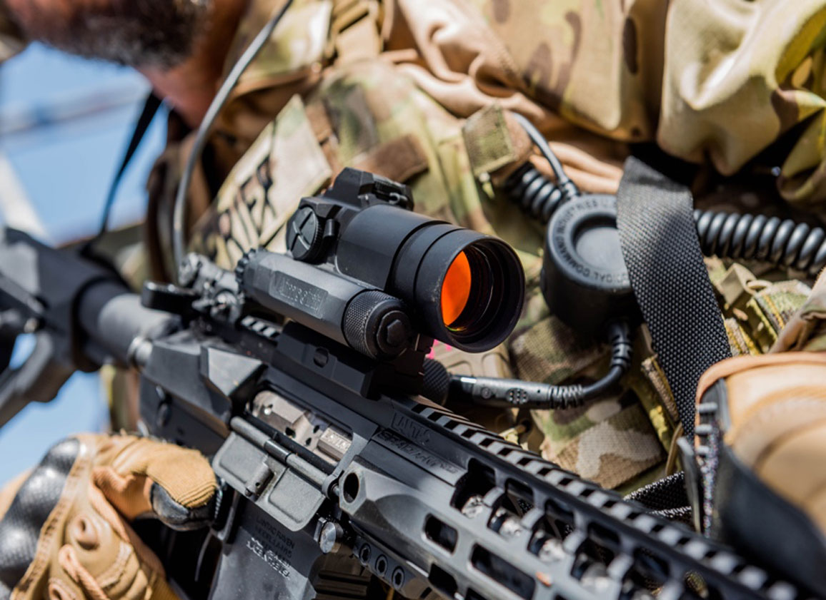 From Battlefield to Deer Stand - Aimpoint is Right On Target