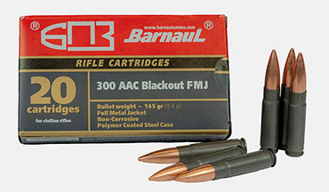 Barnaul announced its .300 AAC Blackout ammo is now available in the U.S.