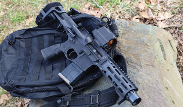 Combining the portability of a pistol and the terminal performance of a rifle makes the new Daniel Defense DDM4 PDW the ultimate personal defense firearm.