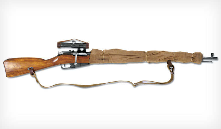 Hollywood Hardware: The Mosin-Nagant 1891/30 Sniper Rifle