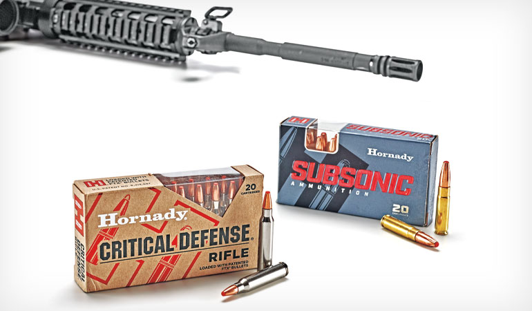 Hornady Rifle Ammunition Loaded With Flex-Tip Technology
