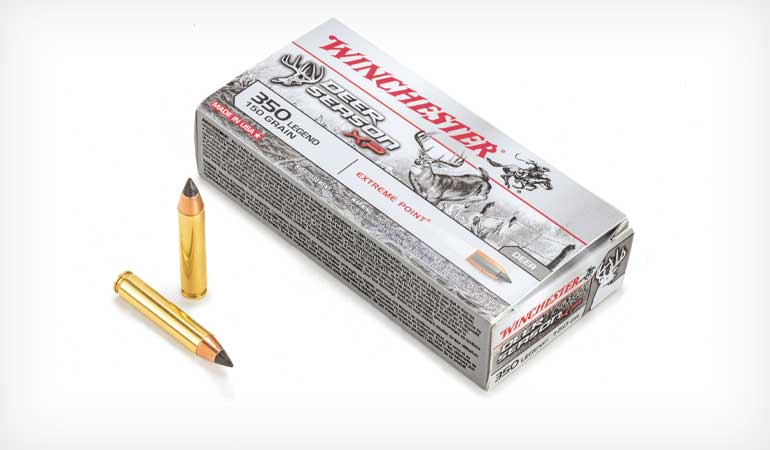 <p>The Winchester .350 Legend straight-wall cartridge is ideally suited for hunting hogs and deer; here's everything you need to know to make it work for you.</p>