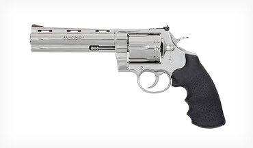 Colt reintroduces the Anaconda, the company's popular Snake Gun revolver series.