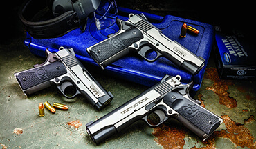 An introduction to three distinct two-­tone Model 1911s from Colt.