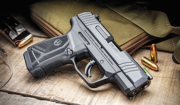 Sub-compact size and 9mm ammo capacity come together in the high-value, optic-ready Ruger Max-9 pistol.