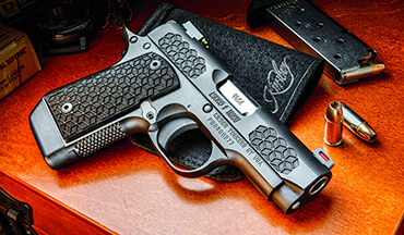 Named for Rome's warrior elite, Kimber's latest Micro 9 offers today's defenders a firearm that is ready and able to answer the call.