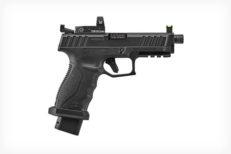 <p>Stoeger brings an earned reputation for durable, dependable shotguns to the world of semiautomatic pistols with the new STR-9S Combat.</p>