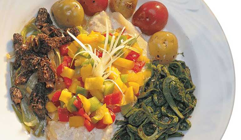 Baked Walleye with Mango Salsa Recipe