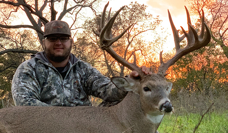 Oklahoma Waterfowl Guide Tags Giant Non-Typical Whitetail
