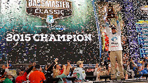 Ashley Wins 45th Bassmaster Classic