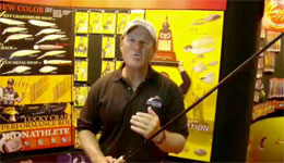 Lucky Craft's Long Crank FP and other fishing rods at ICAST 2009 (Video)