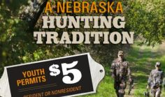 Nebraska Encourages Youth Hunting with Affordable Permits