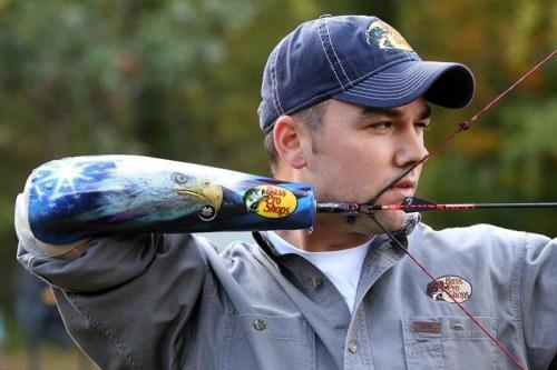 Thornton works as Bass Pro Shops in Springfield, Mo., and is thankful to have it as his sponsor. (Courtesy teamusa.org)