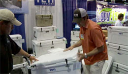 Yeti Coolers at ICAST 2009 (Video)