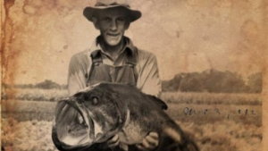 Mysterious Photo of Record Largemouth Bass