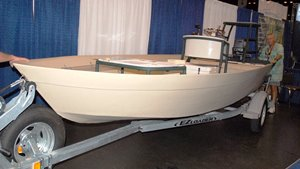 Going Hog Island Wild for Roto-Molded Skiff