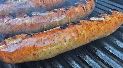 A Saturday kill turned into a tasty game-day meal, this Venison Bratwurst Recipe is perfect for any tailgate or home grill.