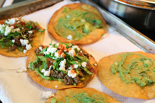 venison tostadas recipe how to make