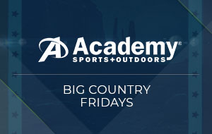Big Country Fridays Presented by Academy Sports + Outdoors