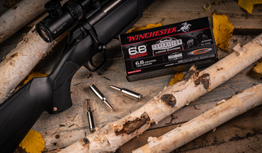 Hunting with Winchester and Browning's new big-game cartridge.
