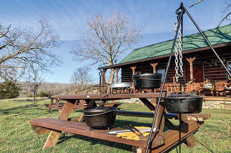 Cast-Iron Dutch Oven: A Camp Essential