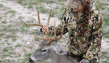 Digital Editor Emily Kantner traveled to Southwest Texas to chase whitetails and put the new Yamaha side-by-sides to the test.