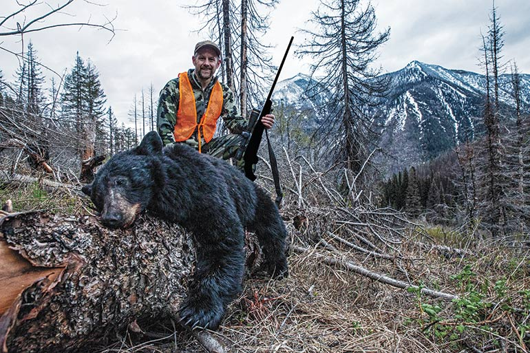 A Long Way Up: Montana Backcountry Black Bears