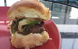 Spicy jalapeño and sweet honey team up in this fun venison slider recipe to bring you a burger.
