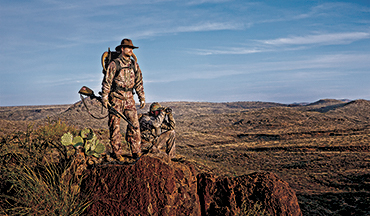 Take the mountain hunting challenge.