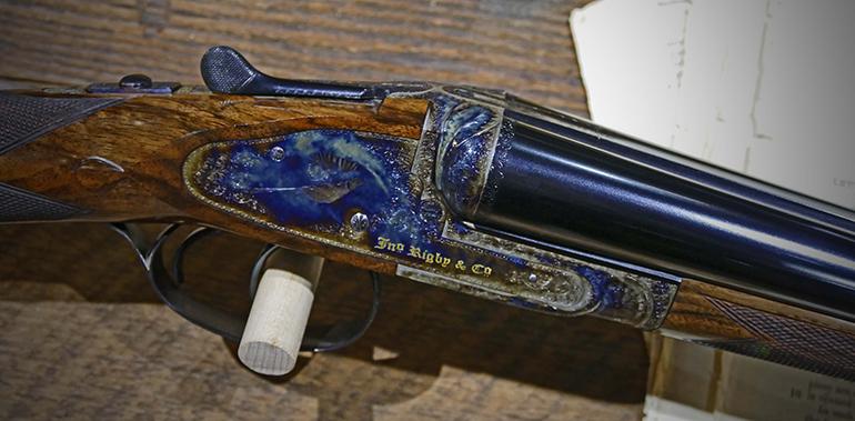Rigby Rising shotgun