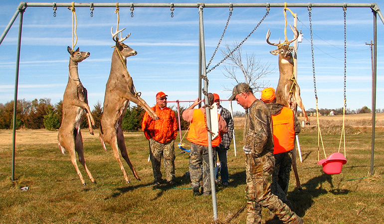 Rigor Mortis: The Importance of Hanging Deer