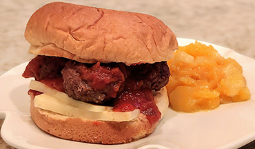 A delicious wild game meatball recipe you can make with ground venison or wild turkey.