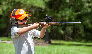 Get young shooters started right with the perfect rimfire rifle.