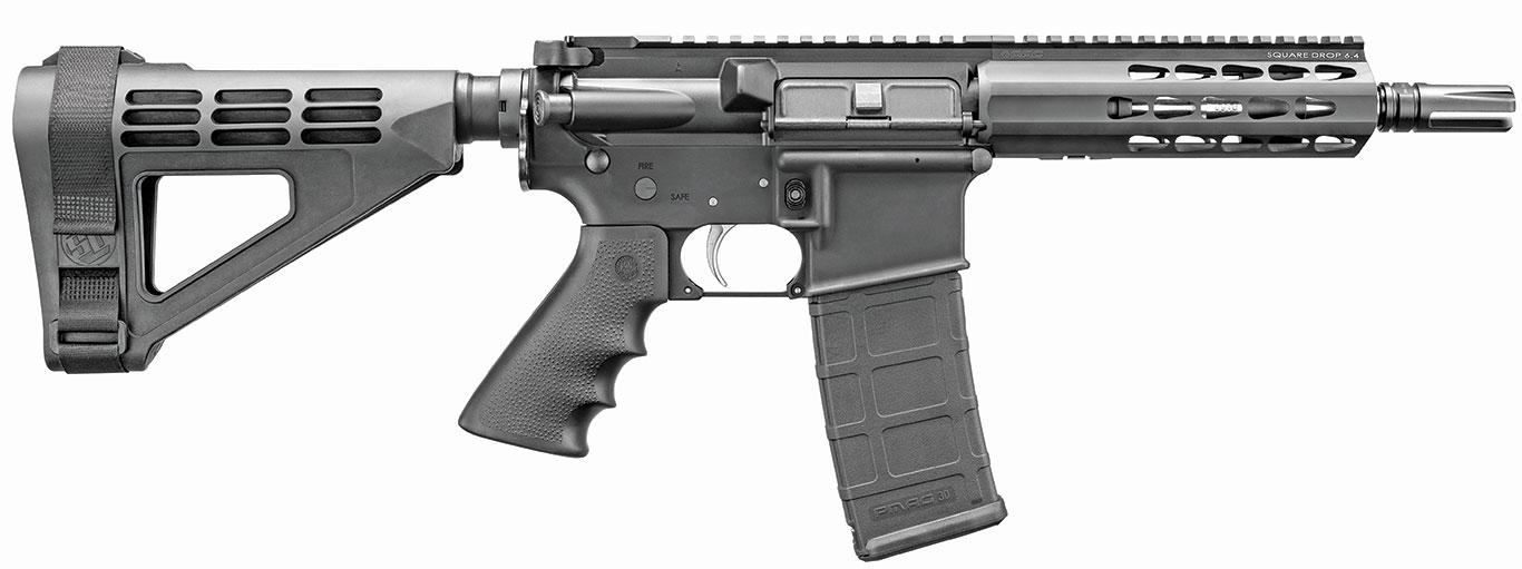 """Bushmaster-AR-15-""""Squaredrop""""-Pistol"""