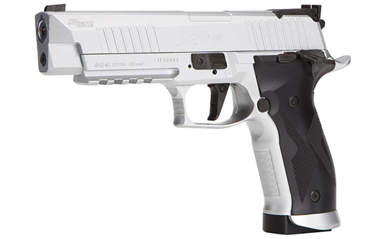 SIG SAUER Introduces the X-Five Advanced Sport Pellet Air Pistol