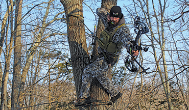 A new generation of highly mobile bowhunters is embracing the lightweight comfort and versatility of tree saddles. Here's everything you need to know to get started in tree saddle hunting.