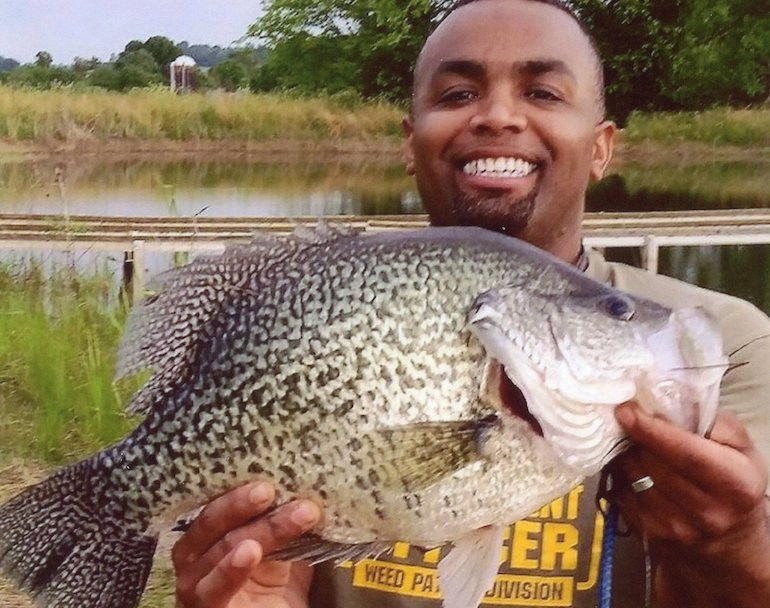 Lionel Ferguson's historic catch is the heaviest crappie ever recorded by the IGFA.