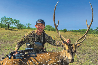 The Texas Hill Country is booming with exotic game. Heed the call and head to the Lone Star State for a second-to-none bowhunting adventure.