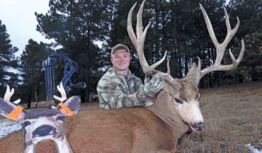 A college football player and his dad share a hunt and take two of their biggest bucks.
