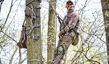 New tree saddles, platforms, sticks and more provide greater efficiency and enjoyment when tree saddle hunting.